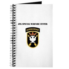 SSI - JFK Special Warfare Center with Text Journal