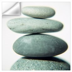 Stacked pebbles Wall Decal
