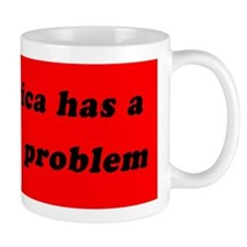 Koch Problem Black Small Mug