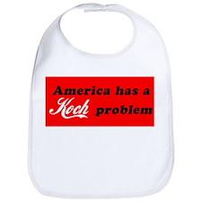 Koch Problem Black Bib