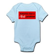 Koch Problem Black Infant Bodysuit