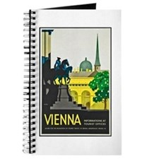 Vienna Travel Poster 1 Journal