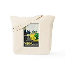 Vienna Travel Poster 1 Tote Bag