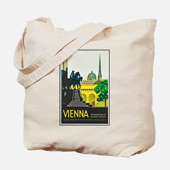 Vienna Travel Poster 1 Tote Bag