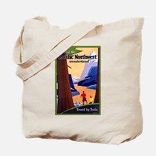 Pacific Northwest Travel Poster 2 Tote Bag