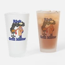 Grill Master Rick Drinking Glass