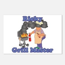Grill Master Ricky Postcards (Package of 8)