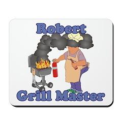 Grill Master Robert Mousepad