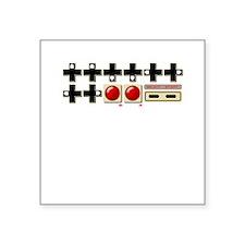 Konami: The Code Square Sticker 3&Quot; X 3&Quot;
