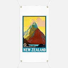New Zealand Travel Poster 7 Banner