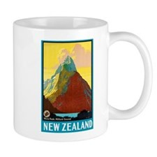 New Zealand Travel Poster 7 Mug