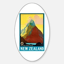 New Zealand Travel Poster 7 Decal