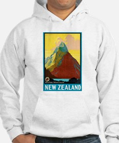 New Zealand Travel Poster 7 Hoodie