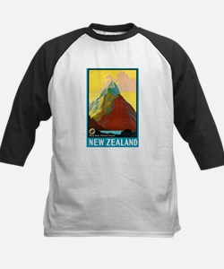 New Zealand Travel Poster 7 Tee