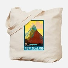 New Zealand Travel Poster 7 Tote Bag