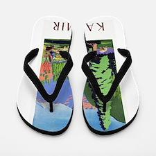 Kashmir Travel Poster 1 Flip Flops