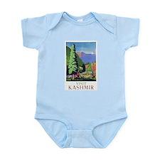 Kashmir Travel Poster 1 Infant Bodysuit
