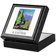 Kashmir Travel Poster 1 Keepsake Box
