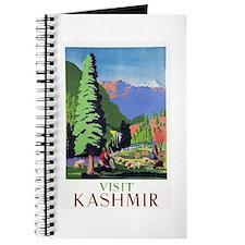 Kashmir Travel Poster 1 Journal