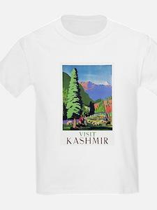 Kashmir Travel Poster 1 T-Shirt