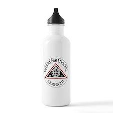 Museum Logo Sports Water Bottle