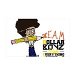 D.R.E.A.M Project 35x21 Wall Decal
