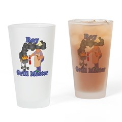 Grill Master Roy Drinking Glass