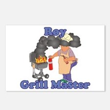 Grill Master Roy Postcards (Package of 8)