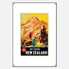 New Zealand Travel Poster 9 Banner
