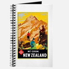 New Zealand Travel Poster 9 Journal