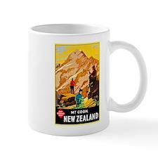 New Zealand Travel Poster 9 Mug
