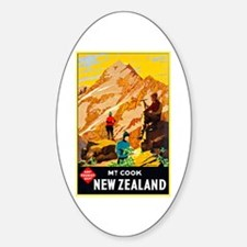 New Zealand Travel Poster 9 Decal