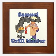 Grill Master Samuel Framed Tile