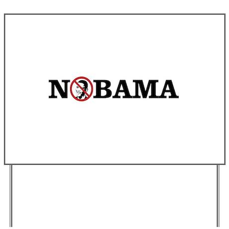 No Obama Yard Sign