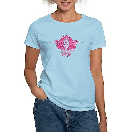 UTR - Hummingbird Days (Pink) Women's Light T-Shir