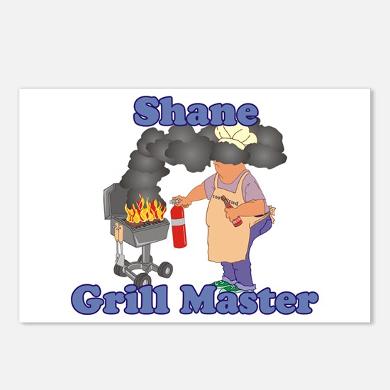 Grill Master Shane Postcards (Package of 8)