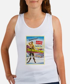 Idaho Travel Poster 1 Women's Tank Top