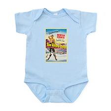 Idaho Travel Poster 1 Infant Bodysuit