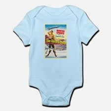 Idaho Travel Poster 1 Infant Bodysuit