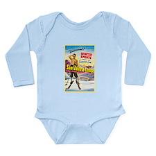 Idaho Travel Poster 1 Long Sleeve Infant Bodysuit