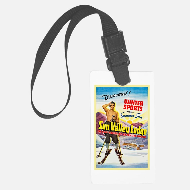 Idaho Travel Poster 1 Luggage Tag