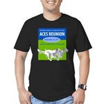 2011Reunion.png Men's Fitted T-Shirt (dark)