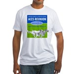 2011Reunion.png Fitted T-Shirt