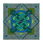 Celtic Design square Tile Coaster