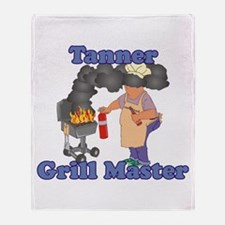 Grill Master Tanner Throw Blanket