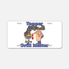 Grill Master Tanner Aluminum License Plate