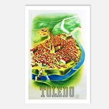 Spain Travel Poster 1 Postcards (Package of 8)