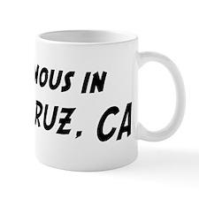 Famous in Santa Cruz Mug