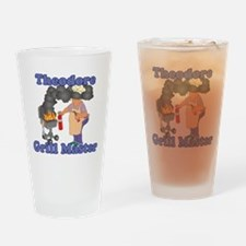 Grill Master Theodore Drinking Glass