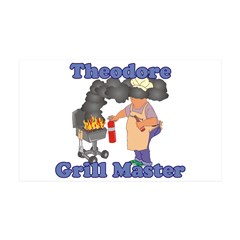 Grill Master Theodore Wall Decal